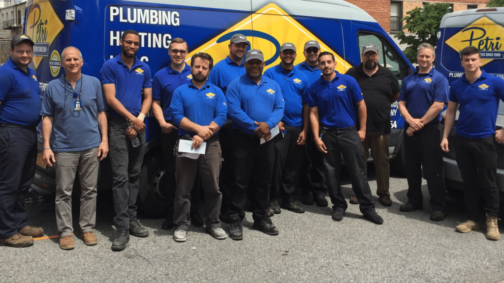 Service Techs at Petri Plumbing & Heating