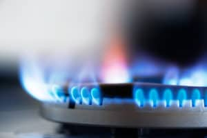 Natural gas stove provides safe cooking