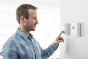 Programmable thermostats take the guesswork out of heating and cooling your home.