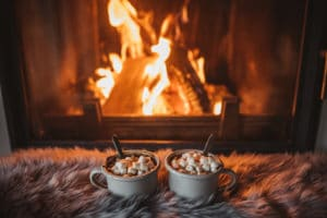 A fireplace can be cozy in the winter, but it might not be the best way to stay warm.