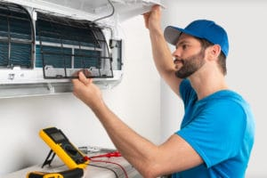 Ductless mini-split systems can be installed in as little as a day.