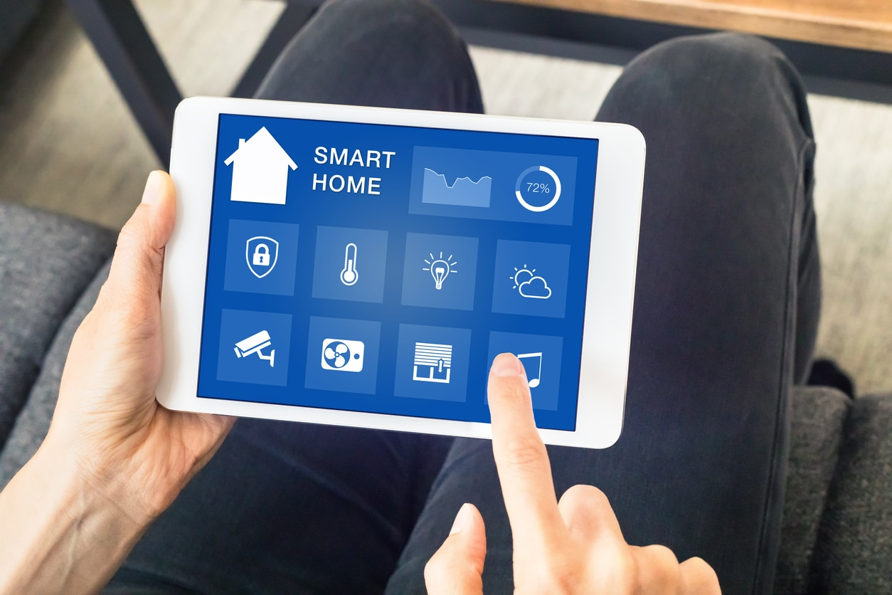 Smart Air Conditioning Tablet Control, Petri Plumbing.
