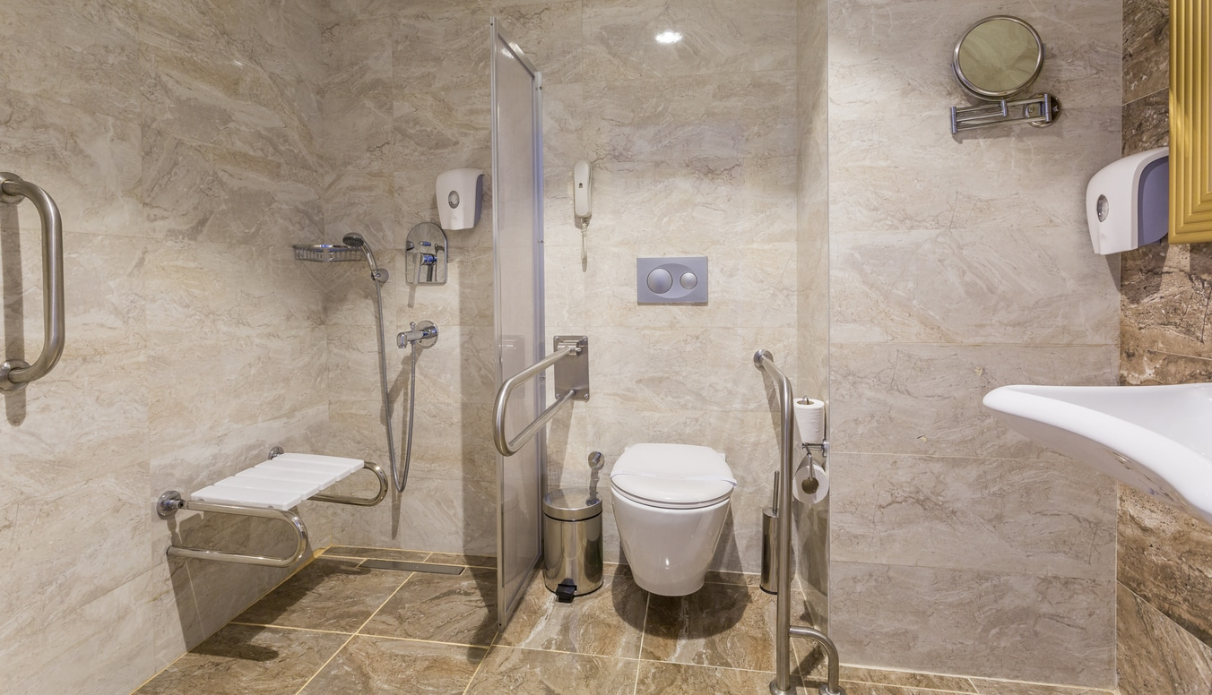 Elderly Senior Bathroom Accessibility Remodel in Brooklyn